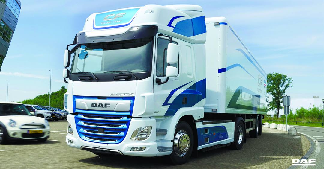 тягач DAF CF Electric на IAA 2018